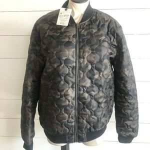 5b9886e0e Lucky Brand Jackets & Coats | Northridge Leather Bomber Jacket ...